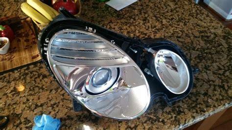 halogen projector headlight hid retrofit evo