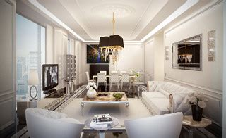 showroom modern living room  york  home