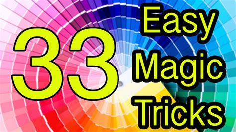 Easy Magic Tricks Revealed 33 Tutorial Youtube