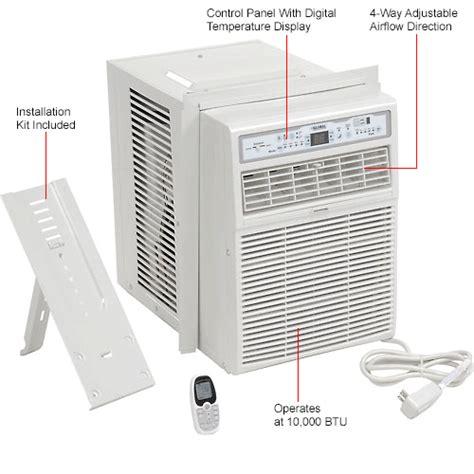 casement window air conditioner  btu   globalindustrialcom