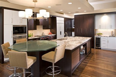 High Contrast Kitchen   Contemporary   Kitchen