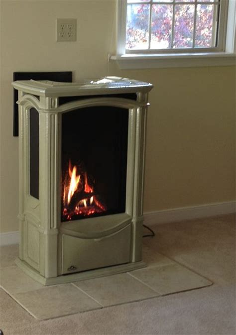 castlemore freestanding gas stove victorian fireplace