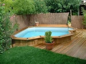 les plus belles photos de piscines bois hors sol semi With amenagement autour de la piscine 8 la petite piscine en bois mini piscine vercors piscine
