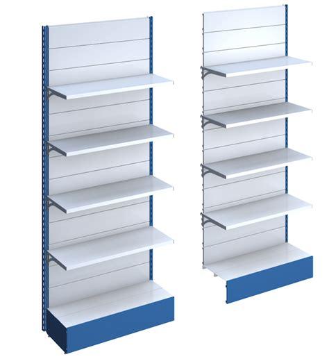 scaffali metallici per negozi scaffali e scaffalature metallici per negozio castellani