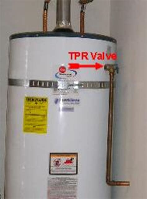 Brady Home Inspection  Water Heater Tpr Valve