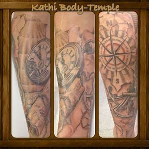 Kompass Tattoo Mann : kompass tattoo seekarte body temple potsdam pinterest tattoos home decor und piercings ~ Frokenaadalensverden.com Haus und Dekorationen