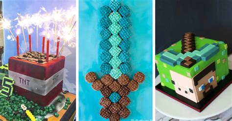 inspirational minecraft cake ideas guide