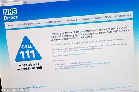 nhs phone number nhs holding inquiry into hotline chaos after outcry