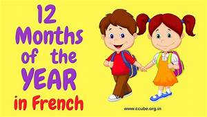 The French Months Of The Year With Pronunciation