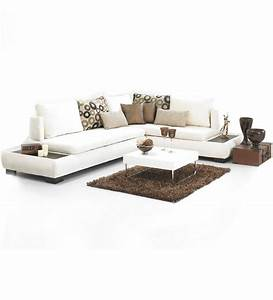 vegas viva sofa set 1 three seater sofa1 lounger by With pepperfry furniture sectional sofa