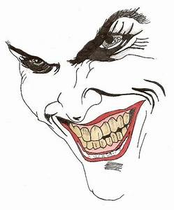 Cartoon Joker Face Drawing Pixshark Com Images