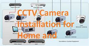How To Install Cctv Camera For Home And Office With