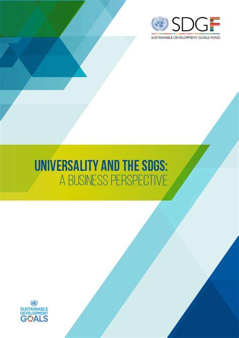 universality   sdgs  business perspective
