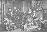 A Harlot's Progress, plate 5 - William Hogarth - WikiArt ...