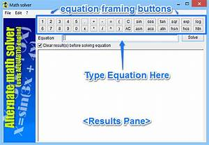 Free Software To Solve Mathematical Equations  Alternate