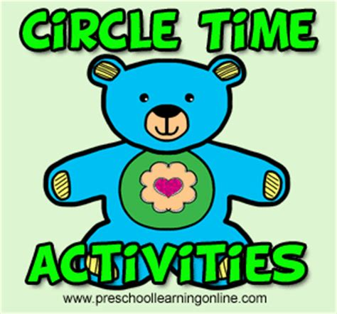 circle time preschool learning 716 | preschool circle time activities 300x280