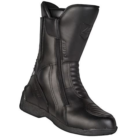 waterproof leather motorcycle boots akito intra leather waterproof motorbike motorcycle boots