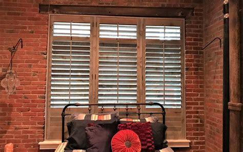 reclaimed wood shutters  sale sunburst shutters las
