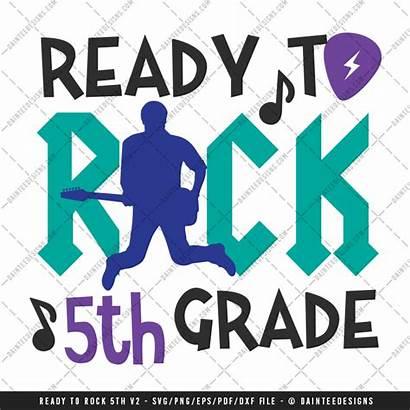 Grade Svg Ready 5th Rock 3rd Pre