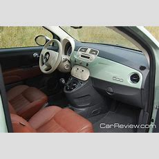 2012 Fiat 500 Interior Tailored For Us Market  Car