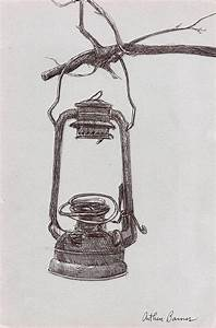 The Old Lantern Painting by Arthur Barnes