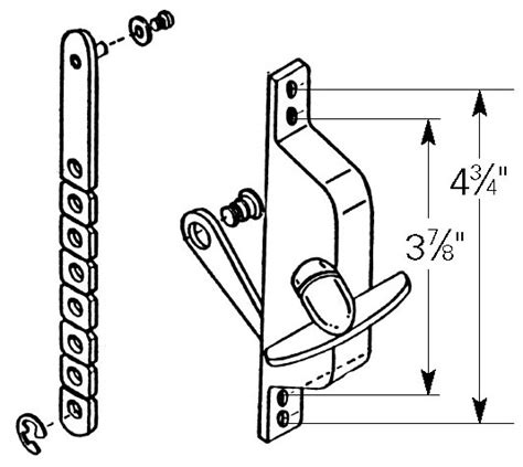 jalousie window operator biltbest window parts