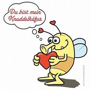 Valentinstag Lustige Bilder : liebesgr e zum valentinstag vom knuddelk fer ~ Frokenaadalensverden.com Haus und Dekorationen