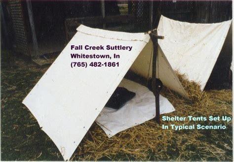 Tents & Shelters For Civil War Reenacting