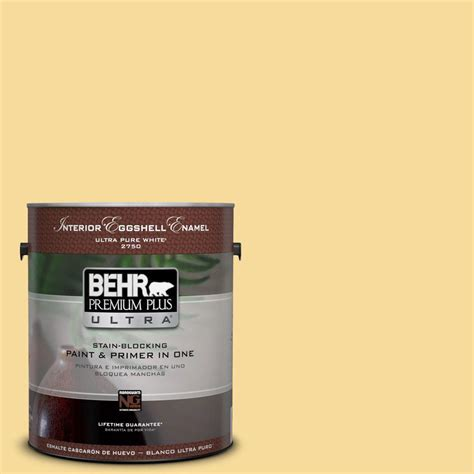 behr premium plus 1 gal 360c 3 honey tone zero voc semi