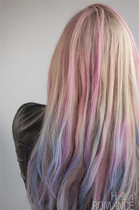 Colour Hairstyles by How To Use Hair Chalk Hair