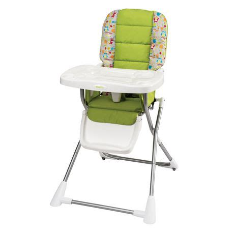 Evenflo Compact Fold High Chair Woodland Buddies walmart canada