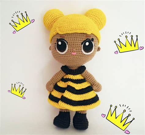 lol surprise amigurumi queen bee lol dollsideas