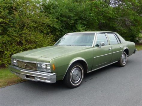 Purchase Used 1979 Chevy Impala One Owner Runs & Drives