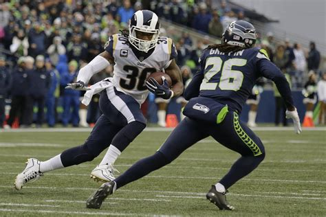 nfc west  won week  rams   wrap