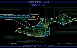 Star Trek The Next Generation Voyager Schematics Wallpaper