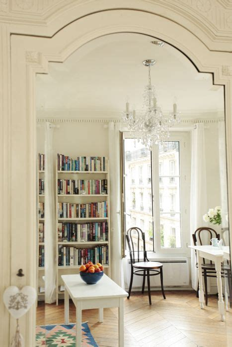 small  beautiful vintage paris apartment french