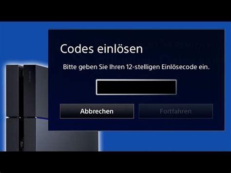 gratis psn codes glitch  german doovi