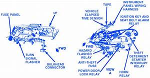 Chevrolet Corvette Top 1987 Electrical Circuit Wiring