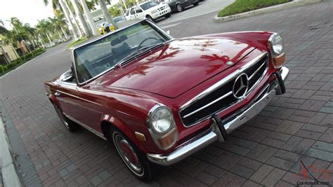 1970 Mercedes Ebnz 280 Sl, Automatic, Ac, Two Tops