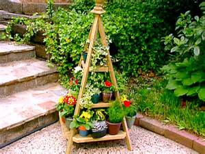 diy outdoor plant stands pdf woodworking
