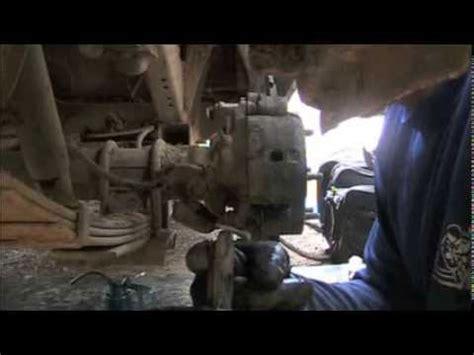 isuzu brake job youtube