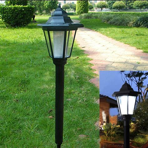 backyard solar lights led solar power light sensor garden security l