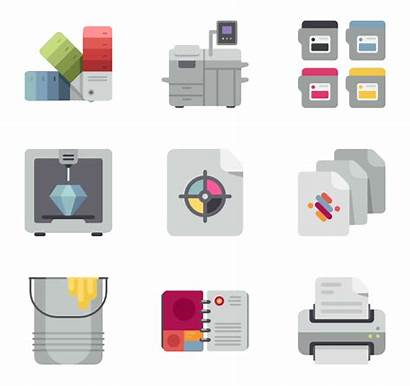 Printer Icon Icons Printing Vector Elements 16x16