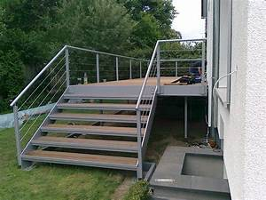 Treppenwangen Holz Aussen : treppenbelag ausentreppe holz ~ Articles-book.com Haus und Dekorationen