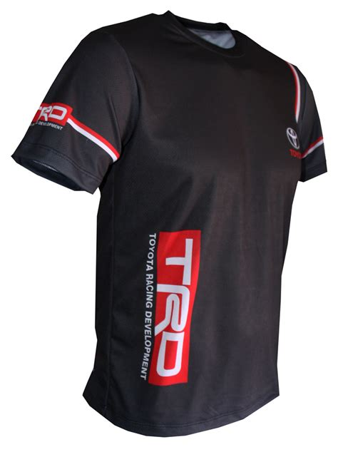 toyota trd  shirt  logo    printed picture