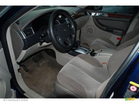 2004 Chrysler Pacifica Standard Pacifica Model interior