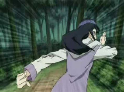 hinata hyuuga  trigrams  palms youtube