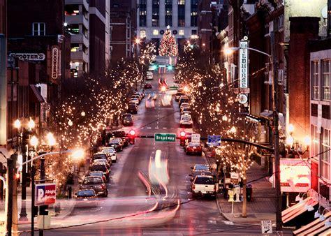 christmas in nashville village parade lights tn