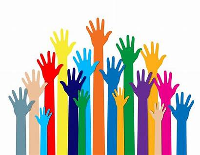 Diversity Different Hands Colors Ethnicity Culture Cultural