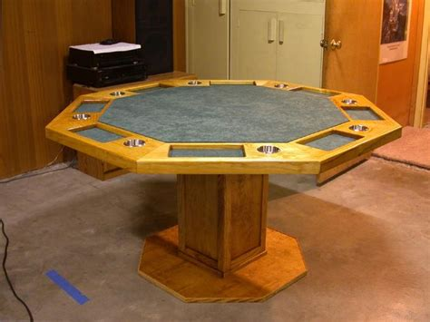 octagon game table plans 13 best poker tables images on pinterest game tables